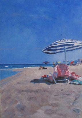 Angeles-Portana-Lopez - En el mar - Adsubian Gallery