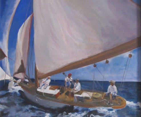 Angeles-Portana-Lopez - Navigando - Adsubian Gallery