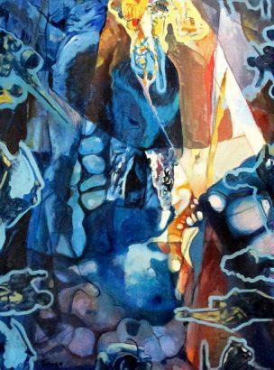 Enrique Ferrer - Ritos inacabados - Adsubian Gallery