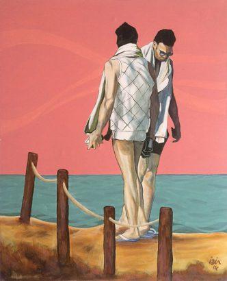 Iain Longstaff - Beach boys - Adsubian Gallery