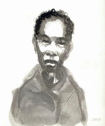 Marc Bati - Portrait Baltimore - Adsubian Gallery