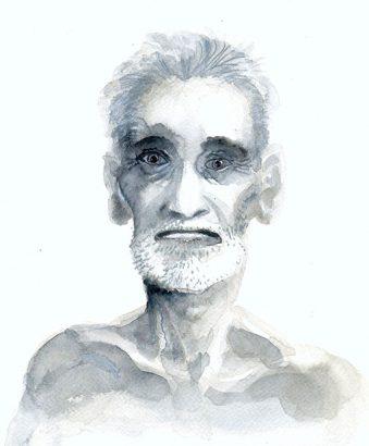 Marc Bati - Portrait Bombay - Adsubian Gallery