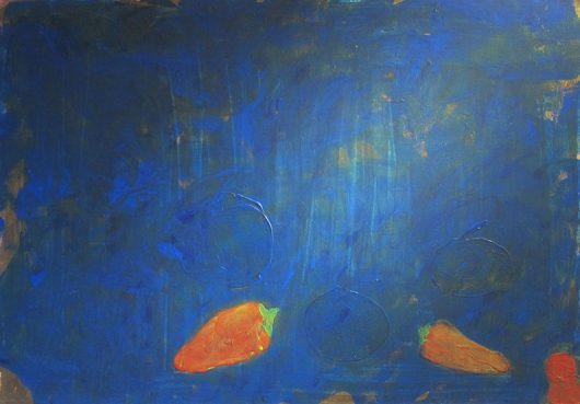 Sylvia Tabet - Piments bleus - Adsubian Gallery
