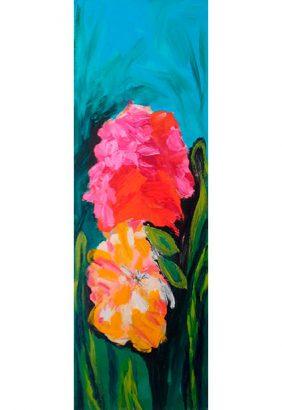 Paule Pointreau - Bouquet de pivoines - Adsubian Gallery