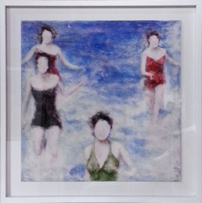 Catherine Solier Les Baigneuses print Adsubian Gallery